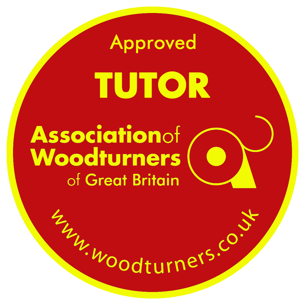 Approved Woodturning Tutor Badge