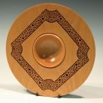 Ambrose O'Halloran. Square textured bowl