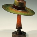 Andrew Hall. Coloured miniature hat