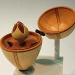 David Springett. Egg & rose bud