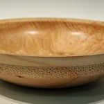 John Burston Sycamore bowl Trowbridge exhibition
