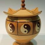 John Ruickbie. Yin Yang bowl. Trowbridge exhibition