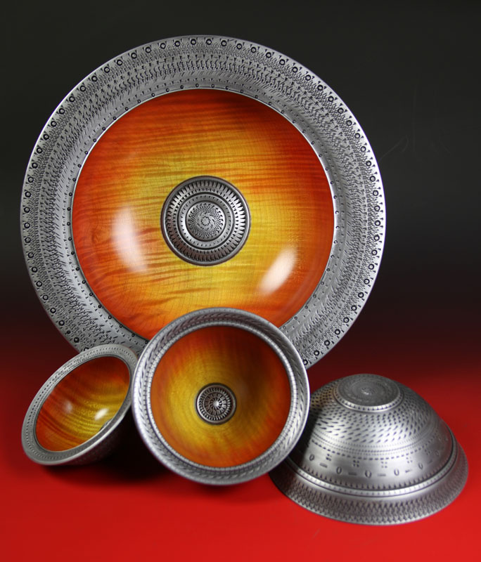 Nick Agar Viking Sunset Bowls