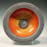 Nick Agar. Viking sunset bowl. Trowbridge exhibition