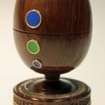 Reg Hawthorne. Enamelled egg