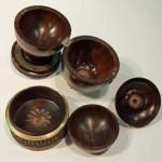 Reg Hawthorne. Enamelled egg opened to show internal box