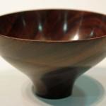 Rosemarie Annetta. Rosewood bowl