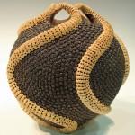 Roy Weare. Tentacular pot. Trowbridge exhibition