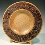 Russell Gibbs. Platter. Trowbridge exhibition