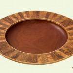 Revopix -Segmented olive ash platter
