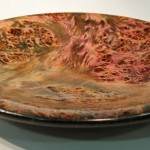 Tony Walton. Poplar burr bowl. Trowbridge exhibition