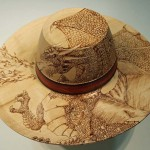 Victoria Challis. Dragon hat